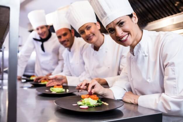 Professional chefs need to think about a lot of things!
