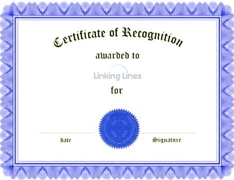 Certificates can be quite useful - include them in your CV.
